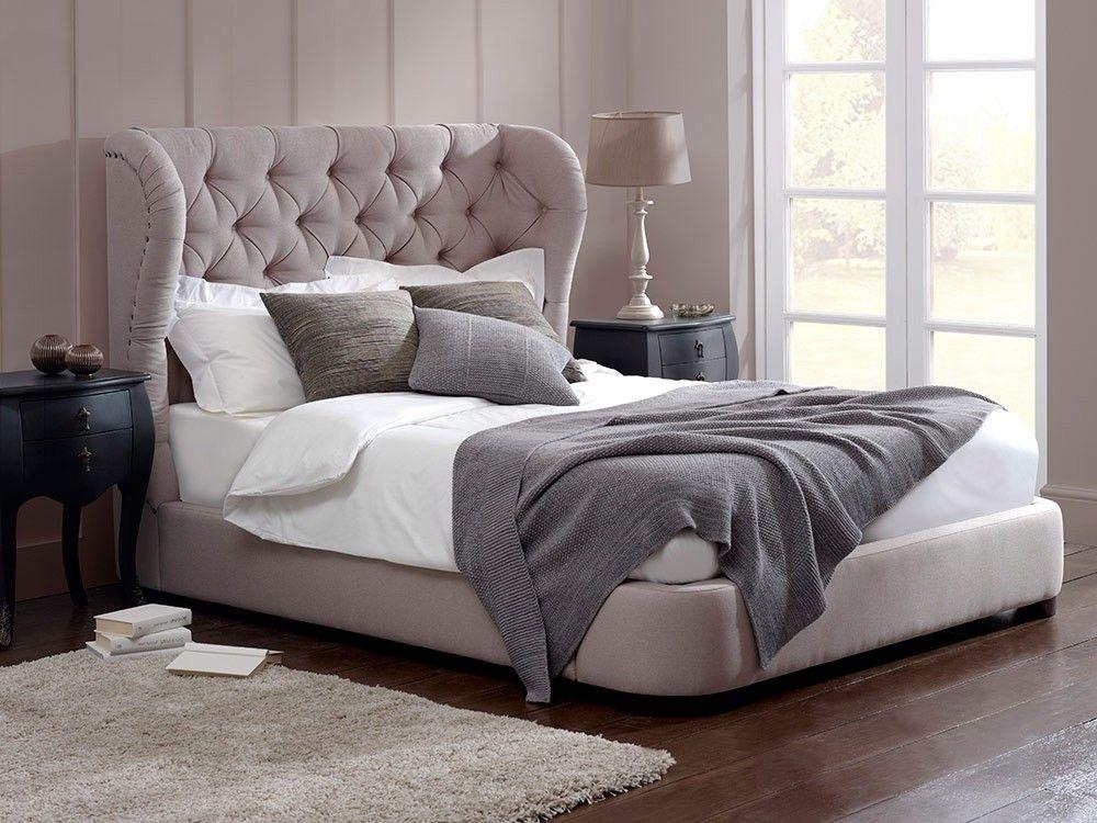 Cadence Low Footboard Bed Bedroom Pinterest Grey upholstered