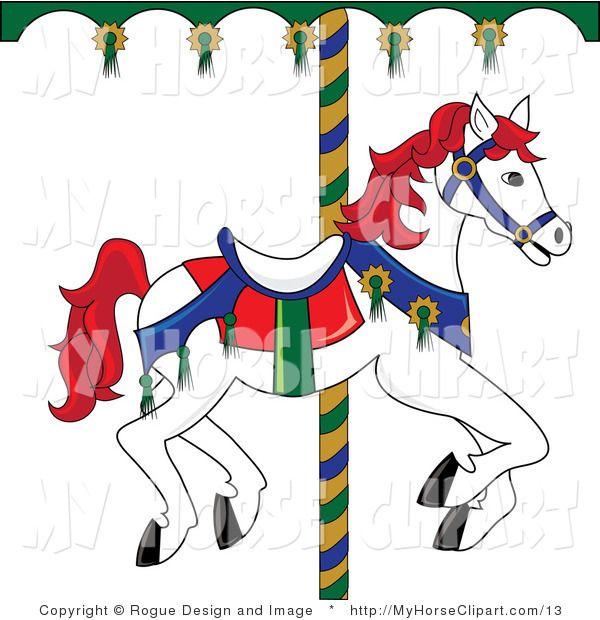 Free Clip Art Carousel Horse