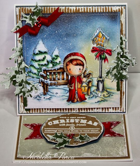 I Love Scrapbooking: Snowy Christmas night - Make it Crafty meets C.C. Design
