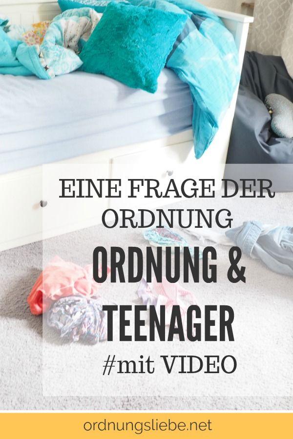 ordnung und teenager eine frage der ordnung video haushalt teenager kinder zimmer und. Black Bedroom Furniture Sets. Home Design Ideas