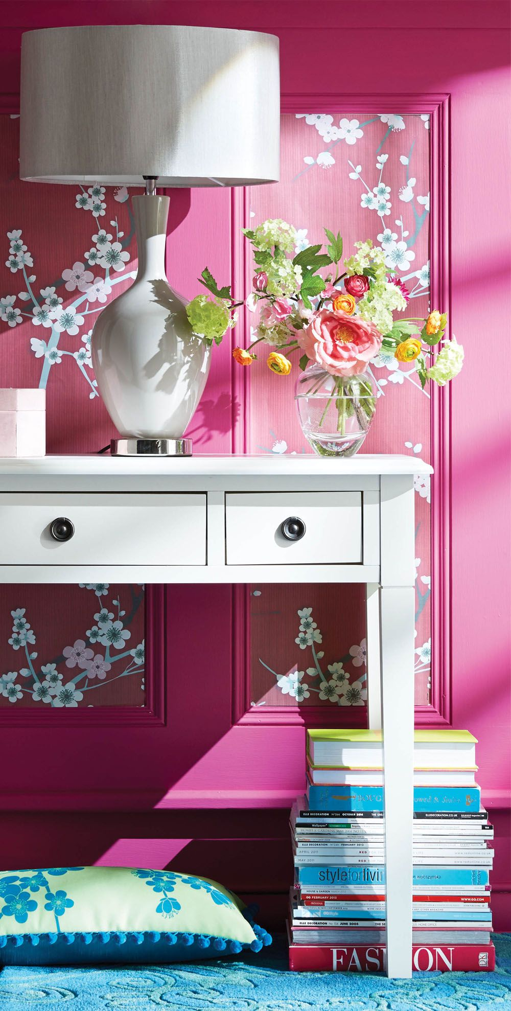 Bold & Bright Home Decor | Crazy for COLOR!!! | Pinterest | Pink ...