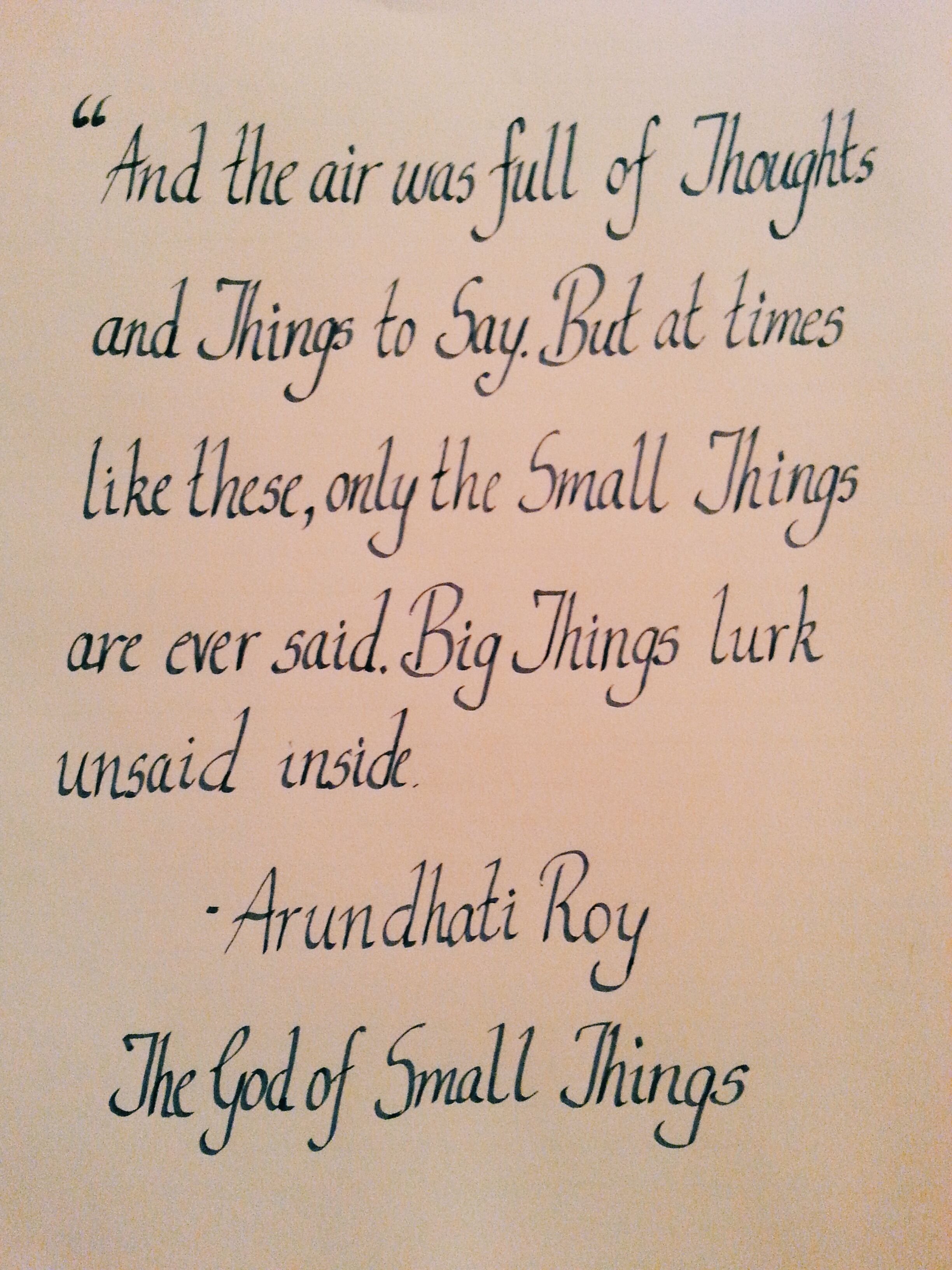 God Of Small Things Arundhati Roy Things I Love 3 Literary