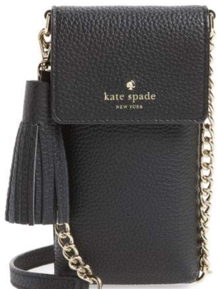 Kate Spade North South Leather Crossbody Smartphone Bag