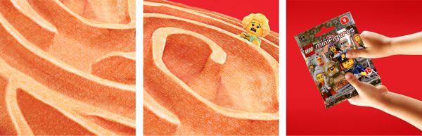 Lego Fingerprints by Andres Gomez, via Behance by Monkey Studio