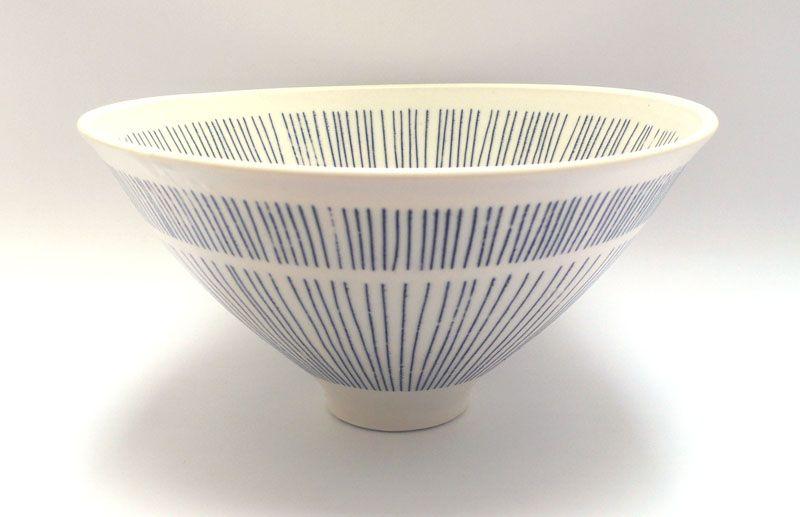 Stripey Bowl - Vicky Hageman