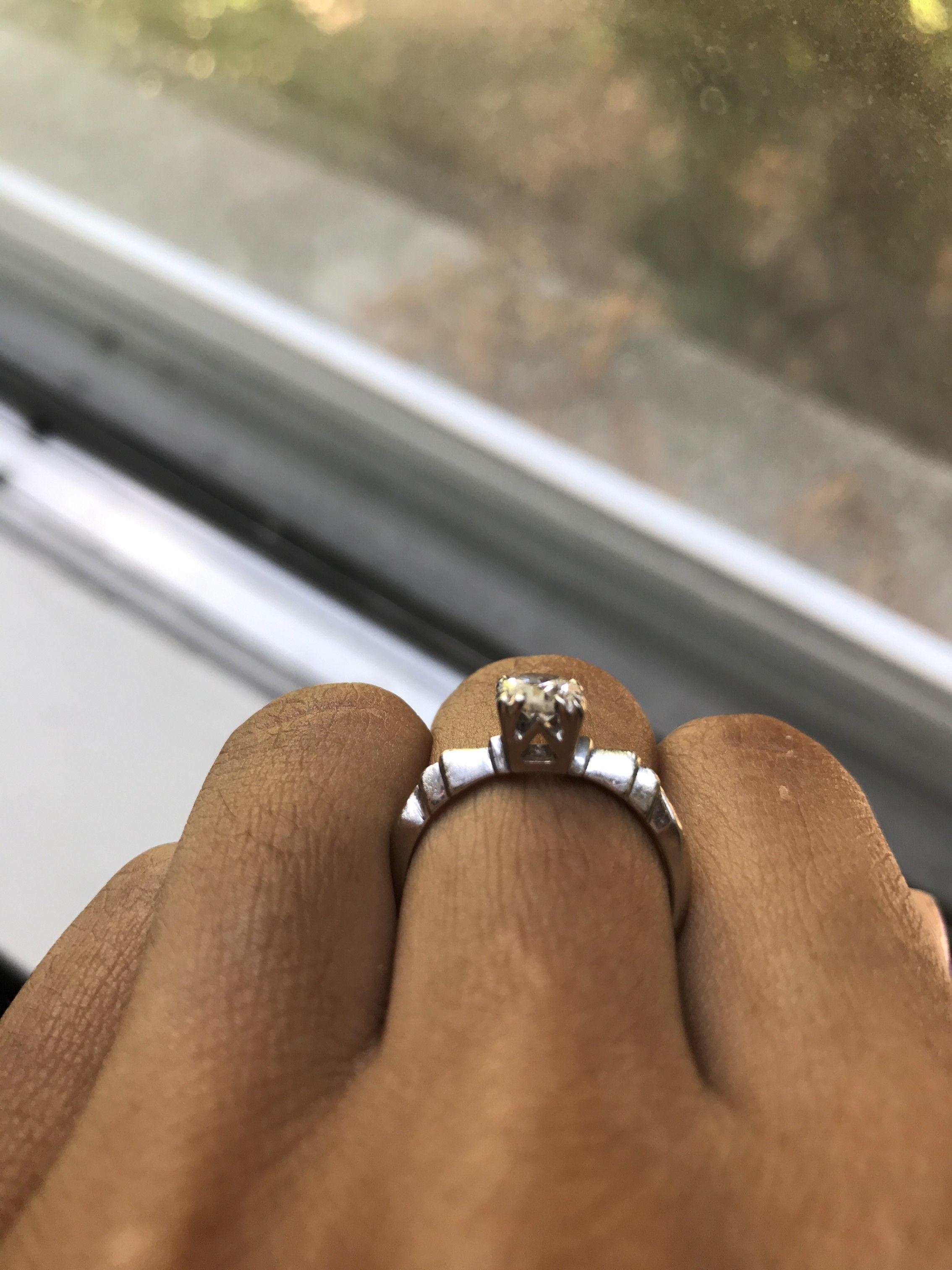 1920s Vintage Engagement Ring Vintage engagement rings