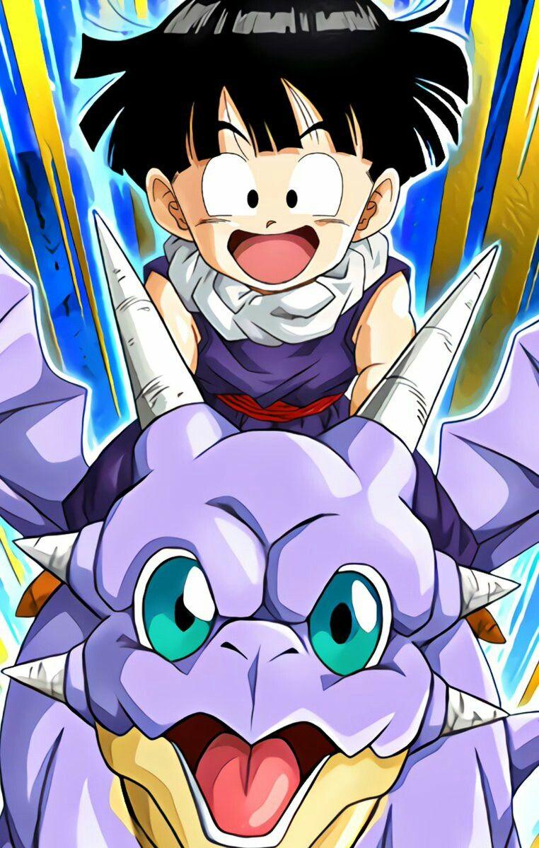 Kid Gohan And Icarus Dragon Ball Artwork Dragon Ball Z Dragon Ball