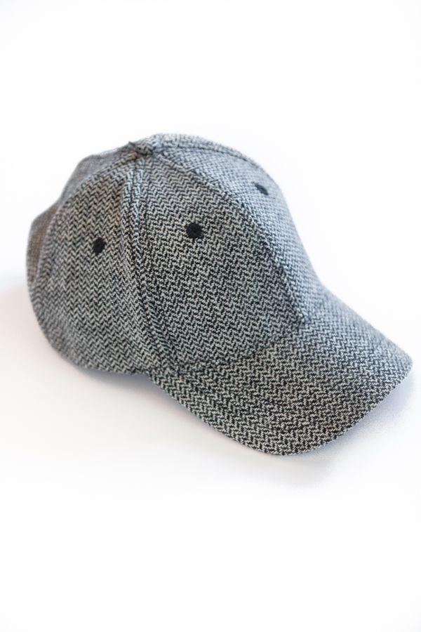 00b7fd172fe Herringbone Baseball Cap.  mystyle