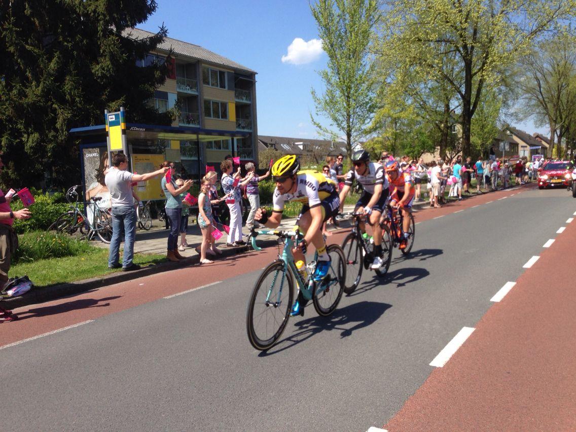 De Giro door Bennekom. De Kopgroep