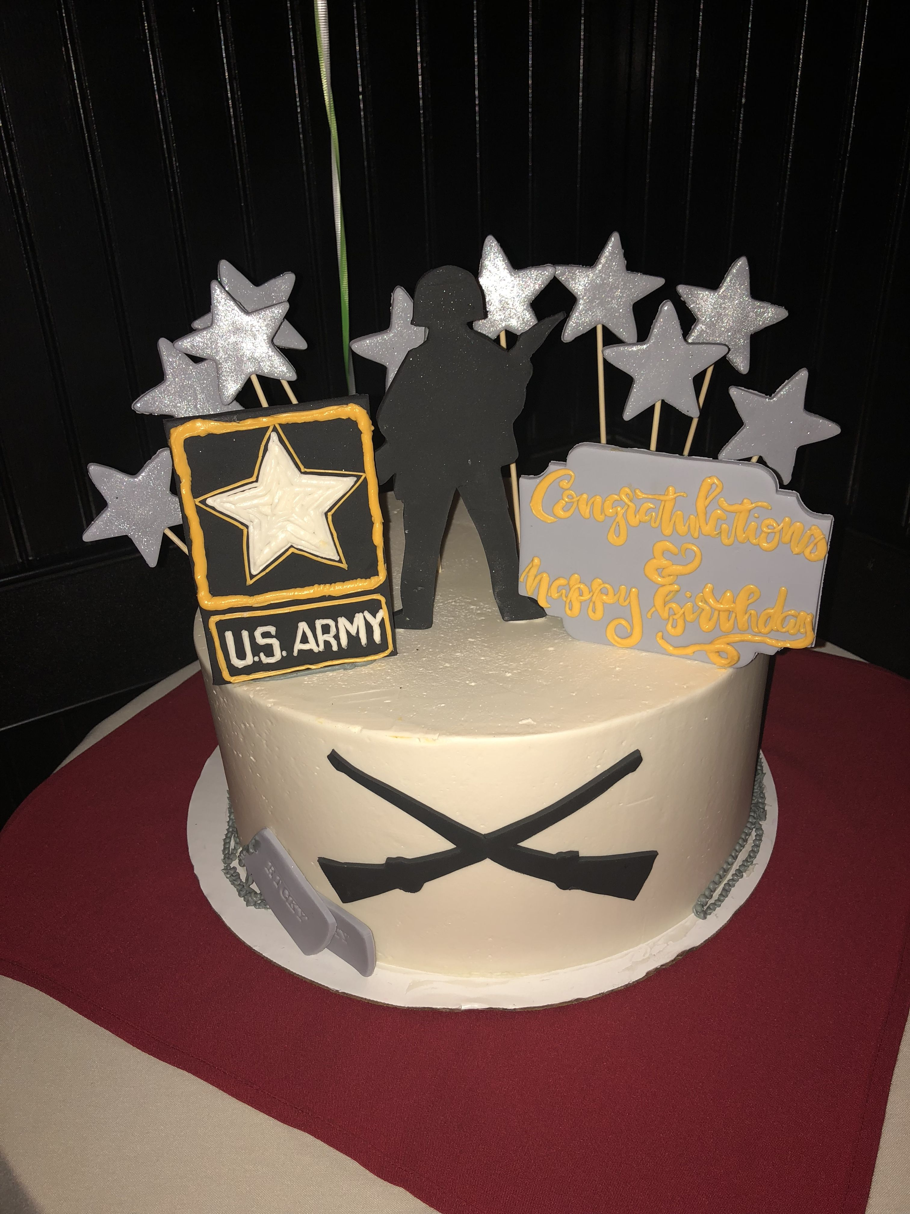 Fabulous Army Cake Graduation And Birthday Cake With Images Army Cake Personalised Birthday Cards Beptaeletsinfo