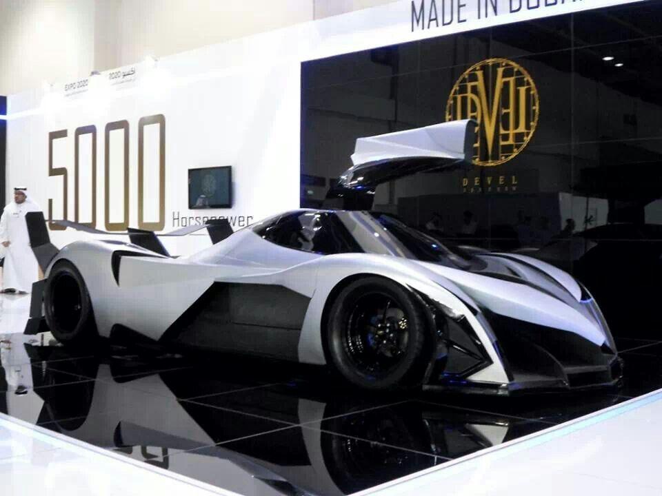 Devel 16 First Supercar Built In The Uae 5000 Horsepower 1 8 Sec