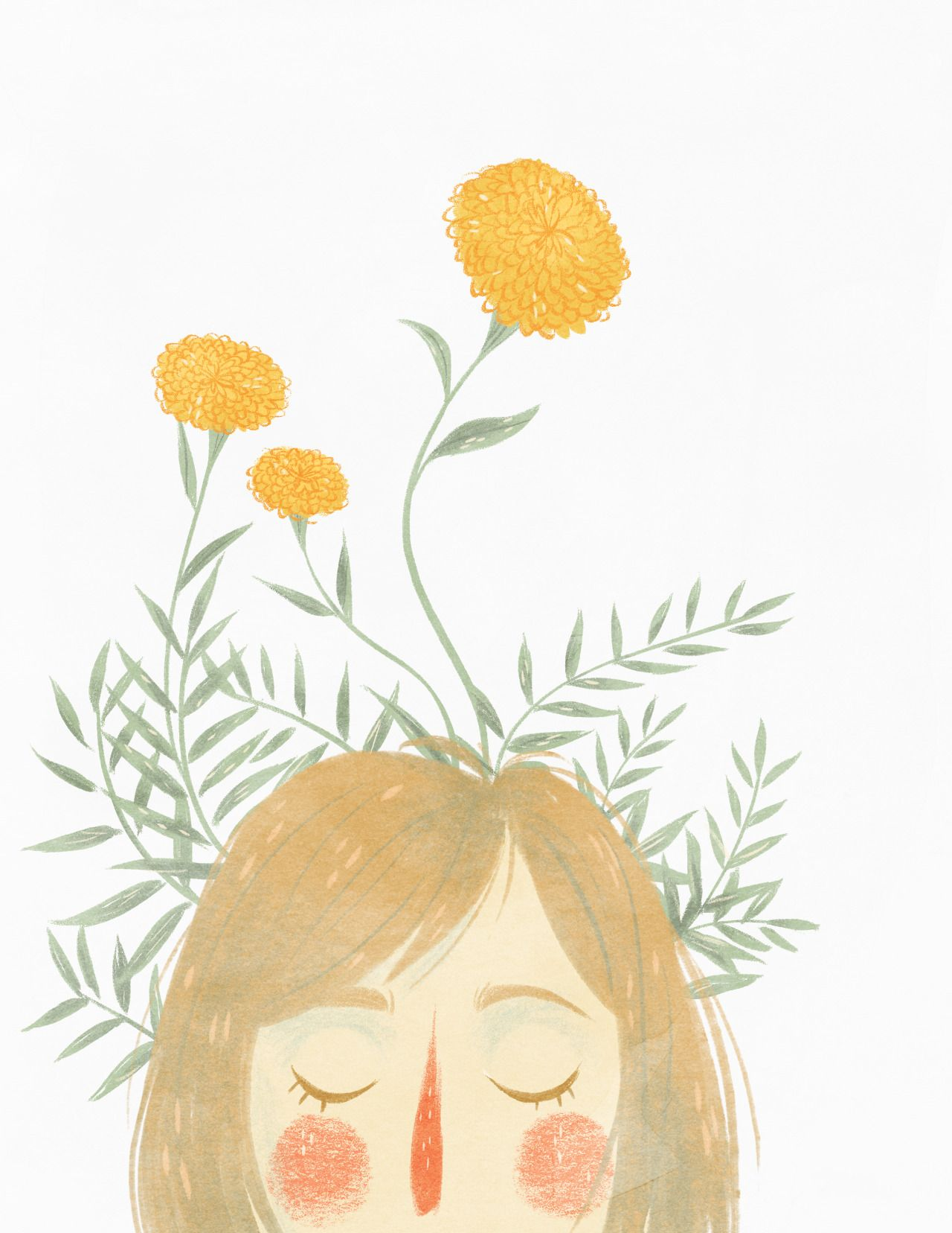 taryndraws:  Happy first day of Spring and International Happiness Day, everyone! Go get a cup of your favorite drink and do something you love today. You deserve it!