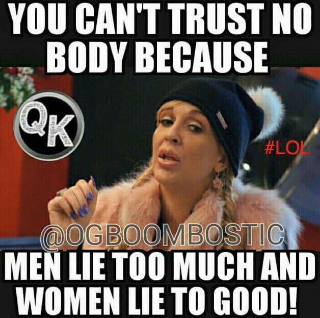 Trust i why men cant 5 Real