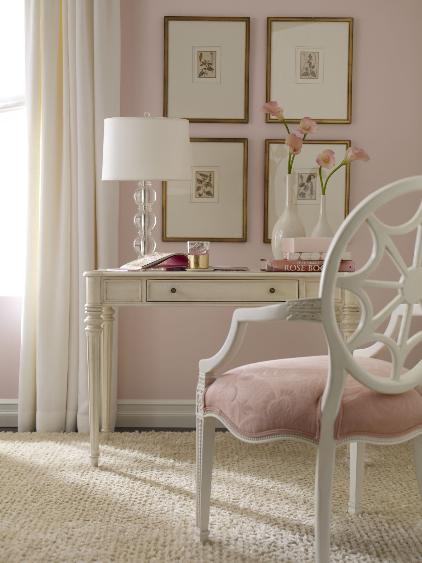 Dusty Pink Bedroom Sweet And Chic Desk On The Hunt To Find One Home Sweet