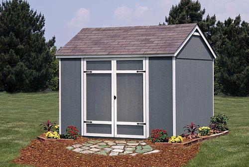 Ellington 10'W x 8'D Yard Building at Menards® | Ideas for ... on