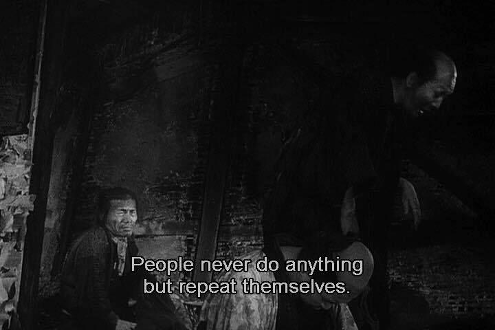 The Lower Depths By 1957 Akira Kurosawa Peliculas Escena Esculturas