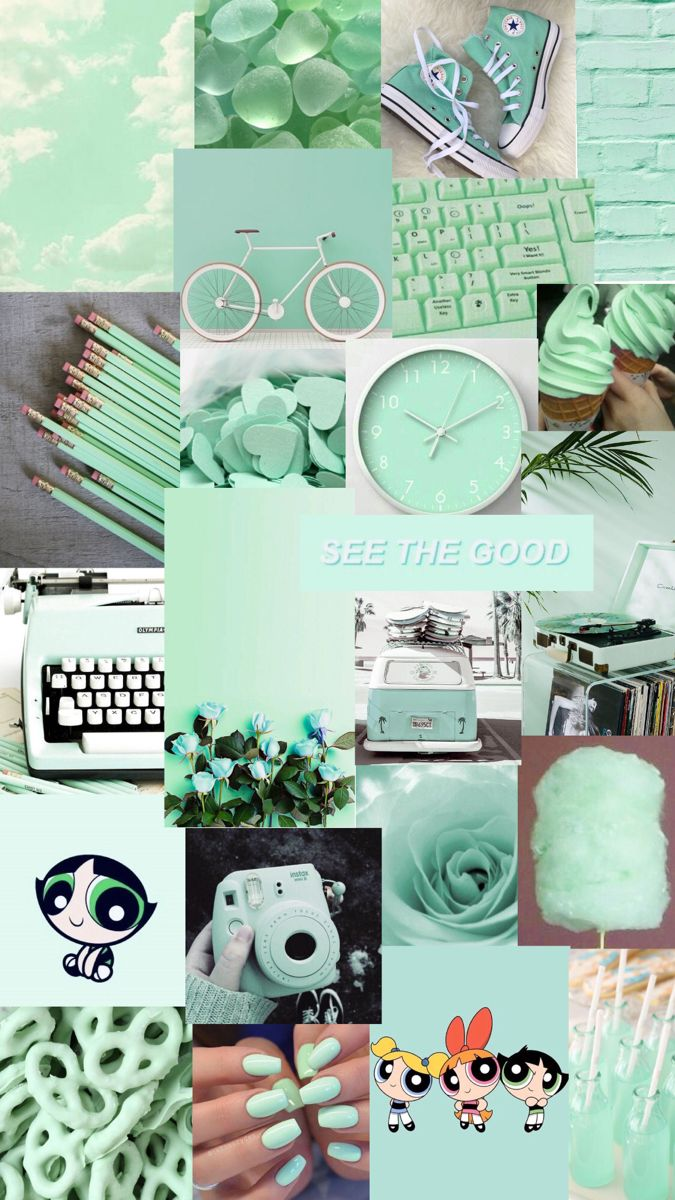 Mint Green In 2020 Iphone Wallpaper Tumblr Aesthetic Cute Patterns Wallpaper Aesthetic Desktop Wallpaper