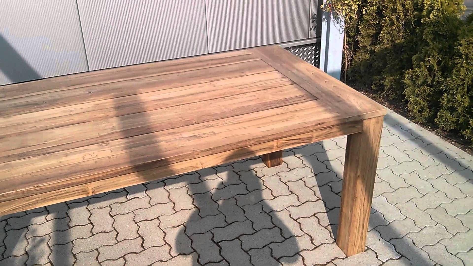Gartentisch Holz Selber Bauen Gartentisch Selber Bauen