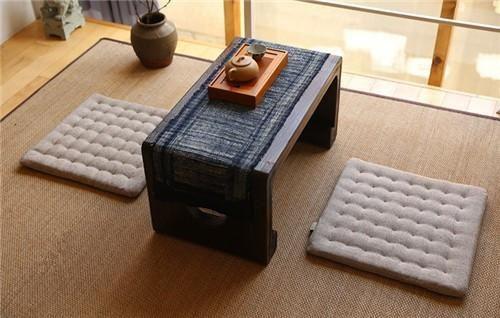FREE SHIPPING, (2pcs/lot) Oriental Zen Cushion Meditation Zabuton Square 43cm Japanese Floor Meditation Seat Tatami Mat Zafu Cushion Seating