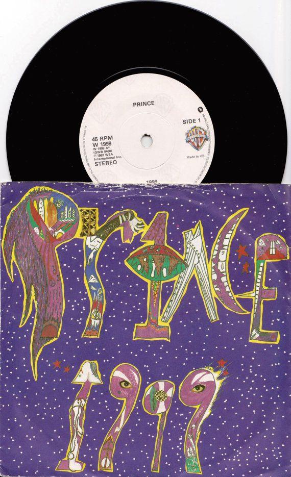 Prince 1999 Little Red Corvette 1984 Uk Issue 7 45 Rpm Little Red Corvette 45 Rpm Pop Dance