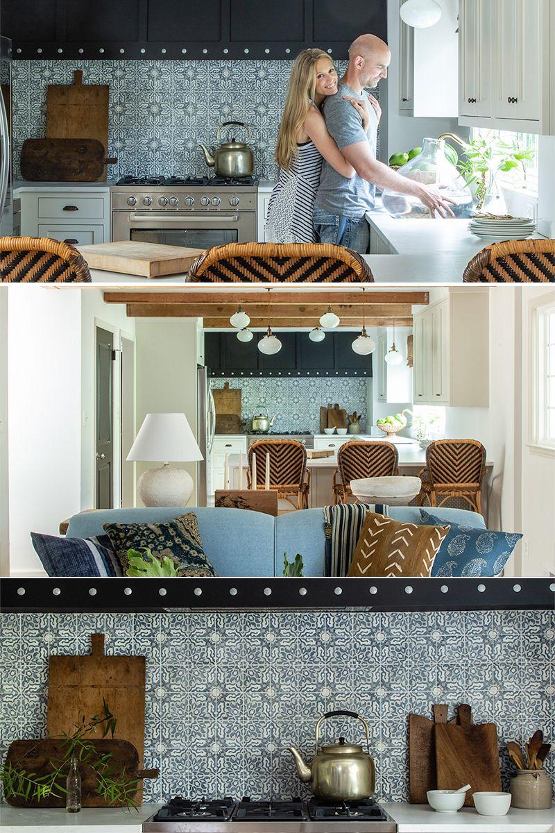 Best Designer Lauren Liess Transformed This Cute Kitchen Using 400 x 300