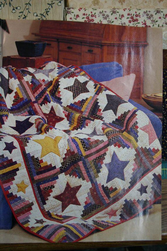 Fons & Porters Texas Log Cabin Quilt Kit | Log cabin quilts, Log ... : fons and porter quilt kits - Adamdwight.com