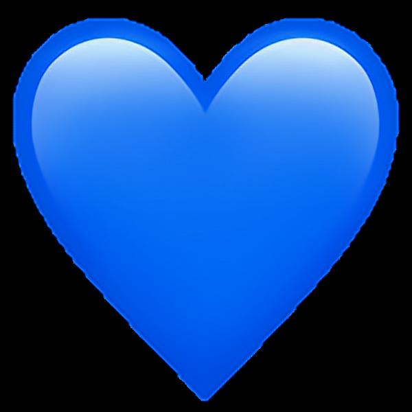 Blue Heart Emoji Transparent Emoji De Corazon Emoji Corazon Azul Emojis De Iphone