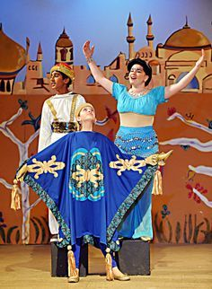 Carpets Will Glide Across The Stage And Lovers Will Sing As The City Of Gilroy Presents A Whole New World Of Magic Wi Aladdin Costume Kids Theater Magic Carpet