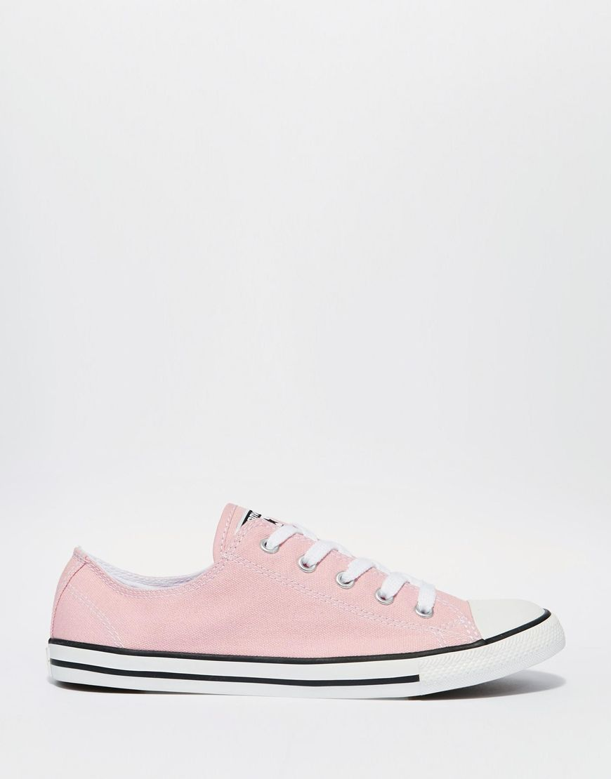 Converse - Chuck Taylor All Star - Baskets - Rose pâle at asos.com