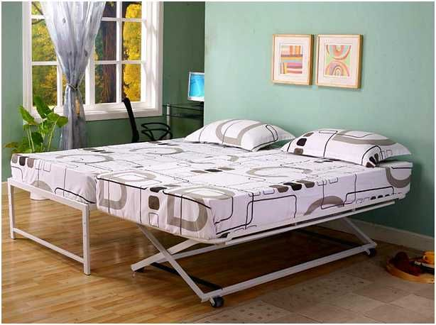 Daybed With Pop Up Trundle Bed Ikea Bedding Home Improvement