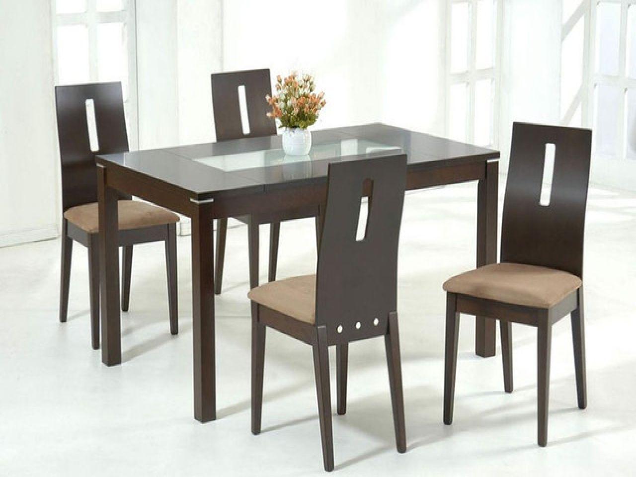 Room Tables Glass Top Dining Table Sets Modern Tops Meja Makan Set Meja Makan Desain Dining room stores best free home