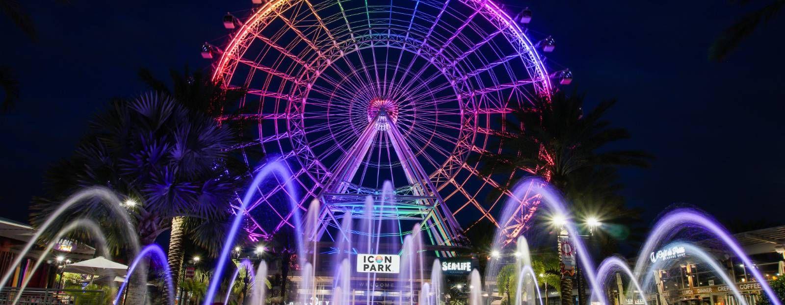 The Wheel at ICON Park Attractions in orlando, Orlando