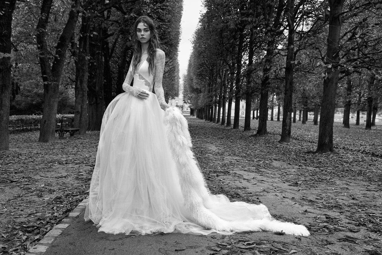 Vera wang ball gown wedding dress   dreamy wedding dresses from Bridal Week to inspire your own