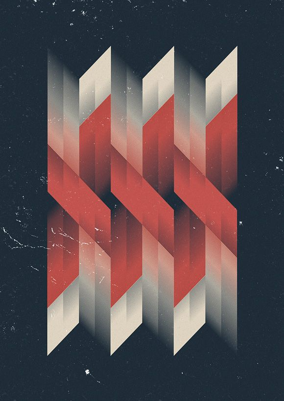 marius roosendaal abstract geometric graphics graphic design