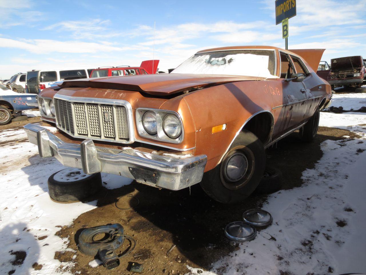 03-1975-Ford-Gran-Torino | junk yard greats/barn finds | Pinterest ...