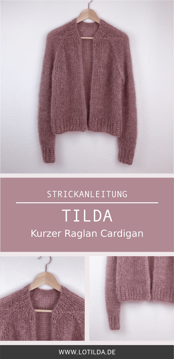 Photo of TILDA – Kurzer Raglan Cardigan