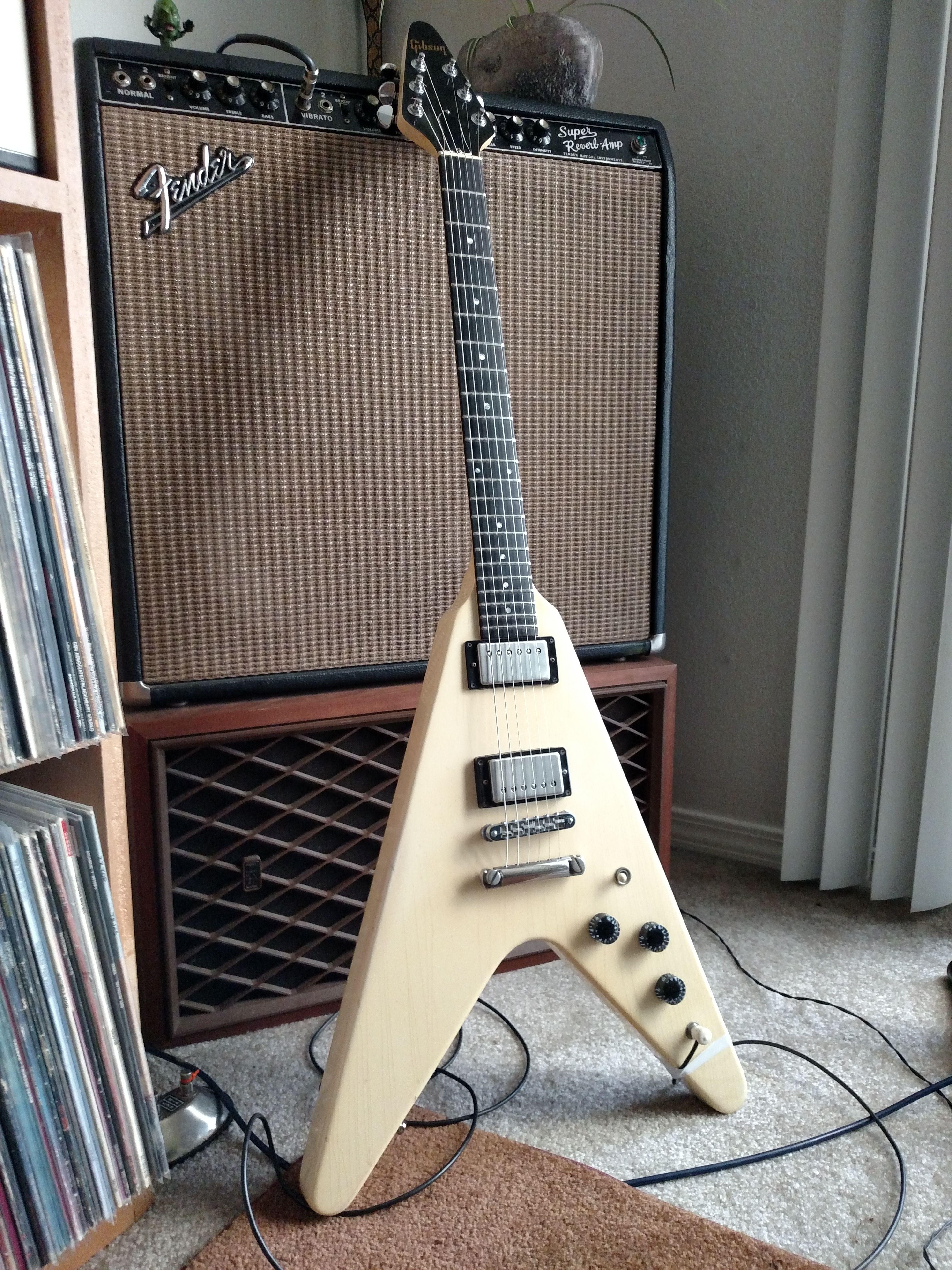 my 1984 flying v flying guitar rig guitar guitar collection. Black Bedroom Furniture Sets. Home Design Ideas