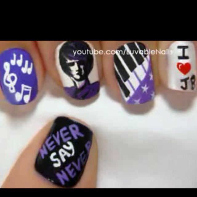 Justin Bieber nails   Nail Designs   Pinterest   Justin bieber and ...
