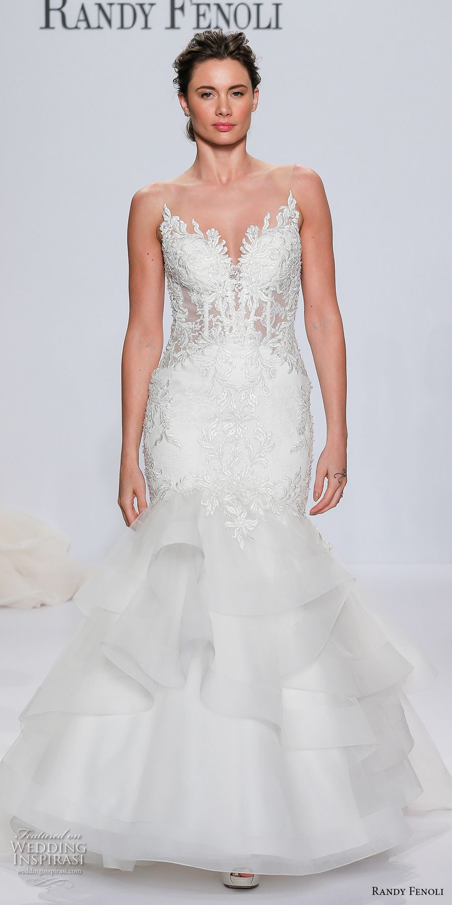 Elegant mermaid wedding dresses  Randy Fenoli Bridal Spring  Wedding Dresses u New York Bridal