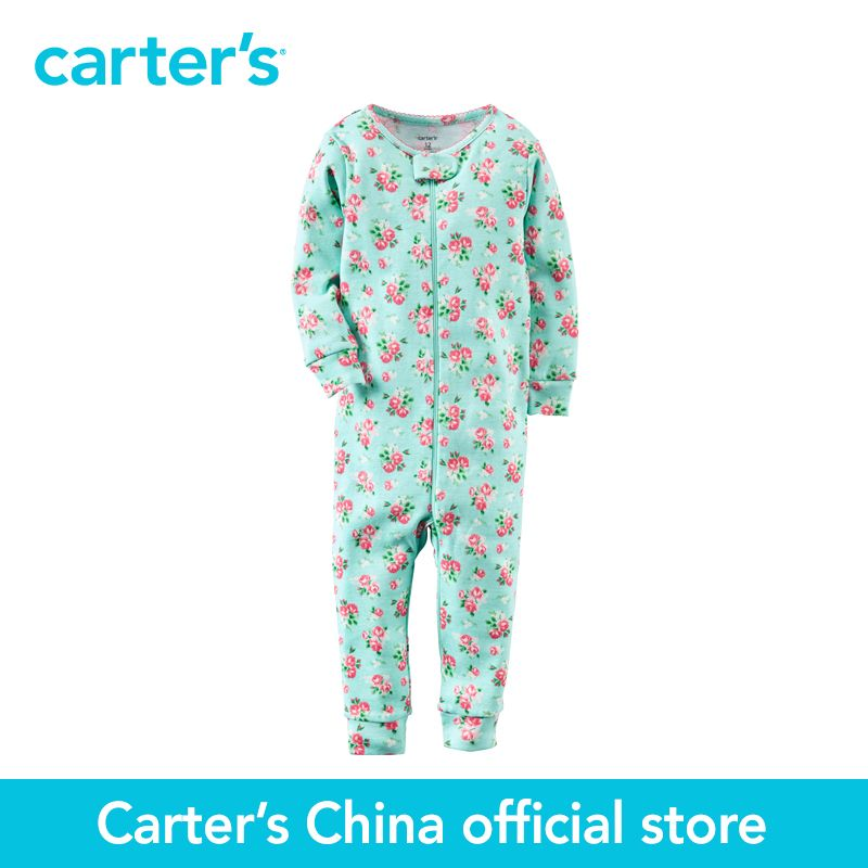 36e8ab109b0bc Carter's 1 pcs baby children kids Cotton Zip-Up Footless Sleep & Play  331G187, sold by Carter's China official store #Affiliate