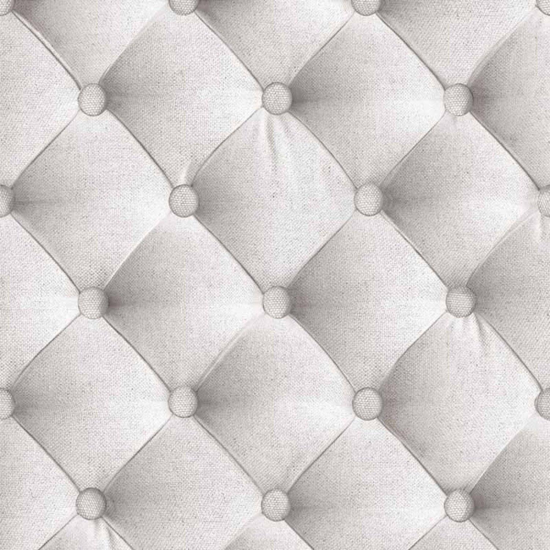 Papier Peint Capitonne Tissu Blanc Grise Trompe L Oeil1 Jpg 1500
