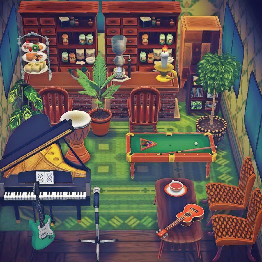 ポケ森 カフェ バーの家具が充実してきたことで神クオリティの