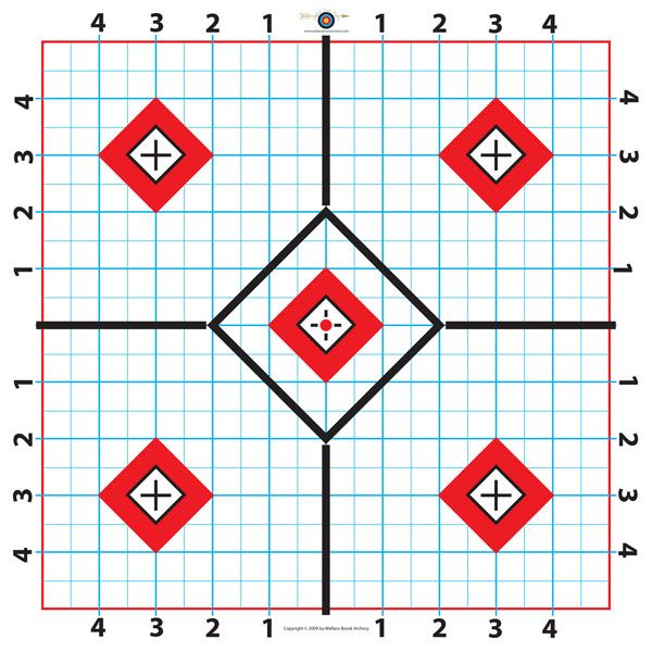 image relating to 100 Yard Zero Target Printable referred to as Pin upon Objectives