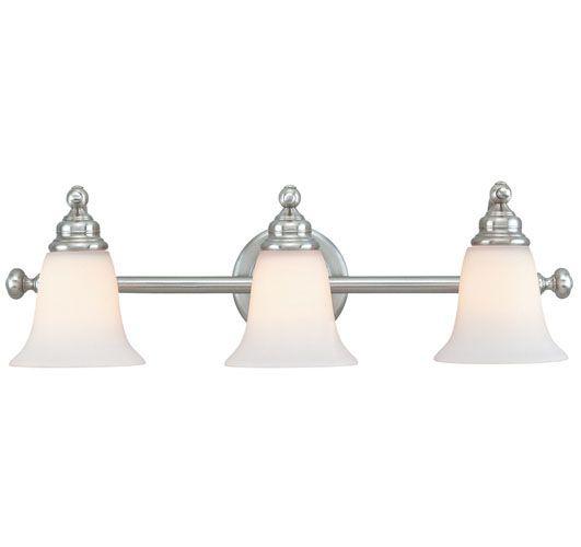 Bathroom Vanity Lighting Hamilton c170-3243-09dolan designs-hamilton collection satin nickel
