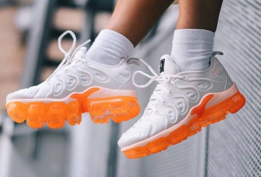 d8dc27415a Nike W Air Vapormax Plus - 'Creamsicle' Phantom, Total Orange Trainers all  Sizes #Nike #LowTop