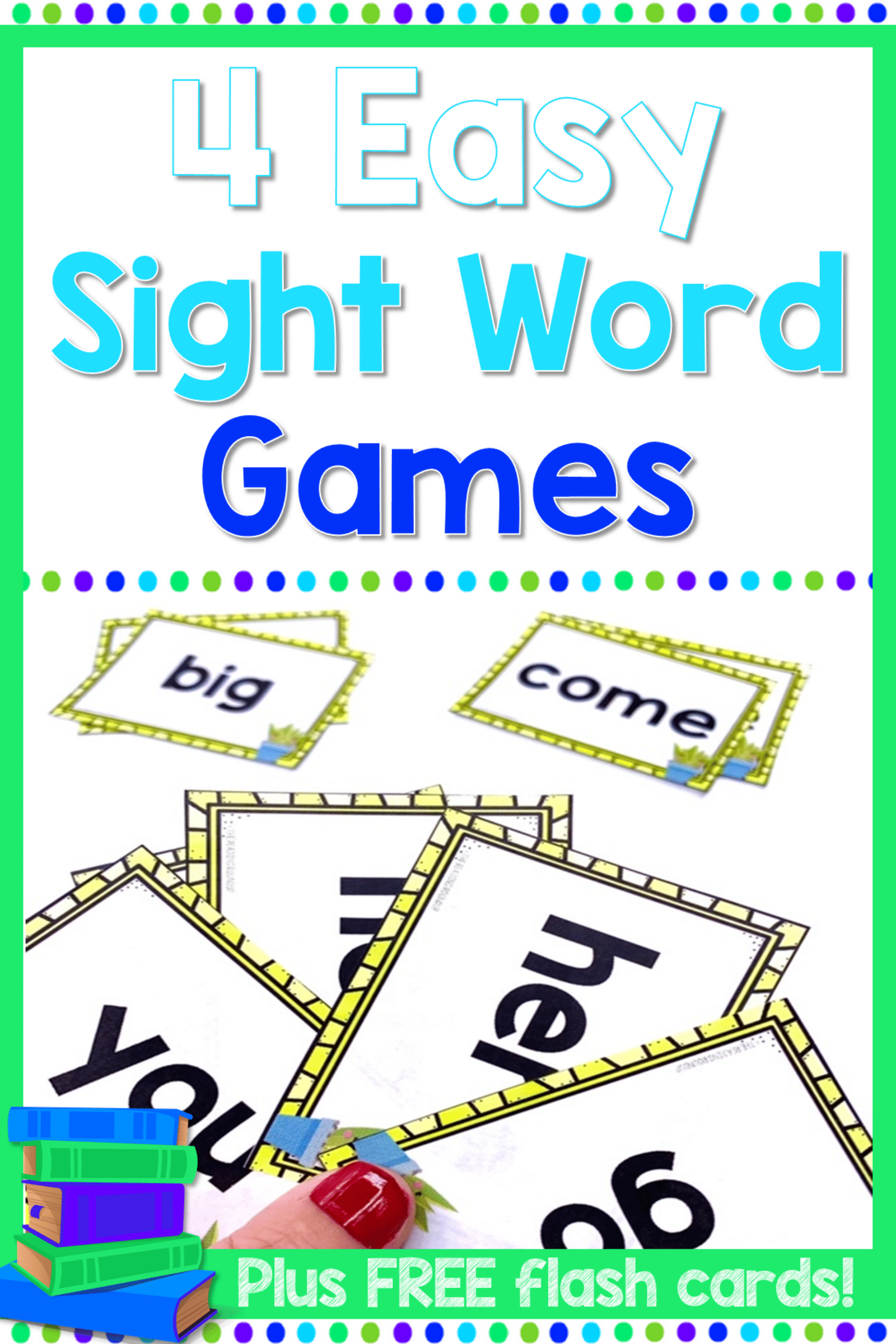 Sight Word Flash Card Games | Teaching reading strategies ...