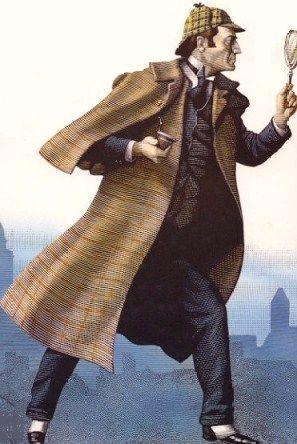 Sherlock Holmes - A great illustration