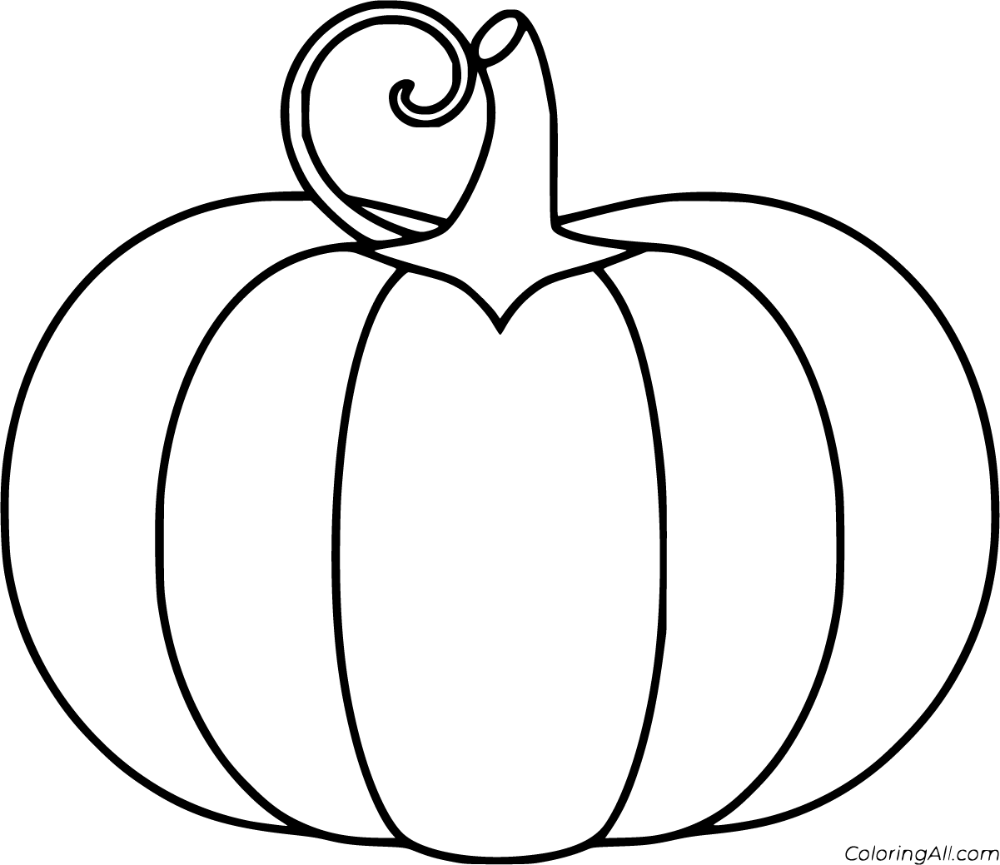 52 free printable Pumpkin coloring pages in vector format ...