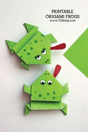 Photo of Druckbare Origami-Frösche – Inspiration leicht gemacht
