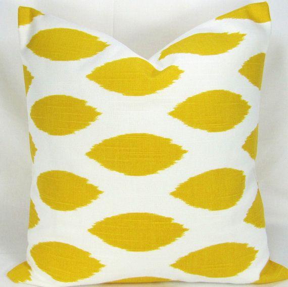 yellow pillow.